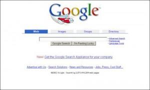 Google 2002